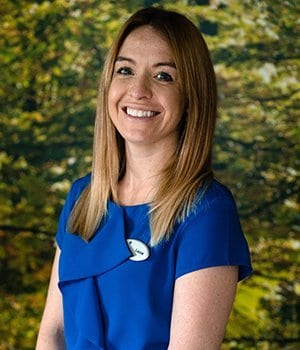Dental Receptionist Laura Tovey